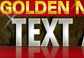 Minisite Graphics (MG-26) -  Golden Nugget Text Ads
