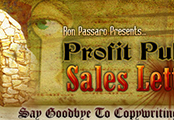 Minisite Graphics (MG-461) -  Profit Pulling Sales Letters