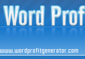 Minisite Graphics (MG-489) -  Word Profit Generator