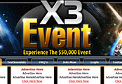 Minisite With Special Background (MWSB-2) -  X3 Event
